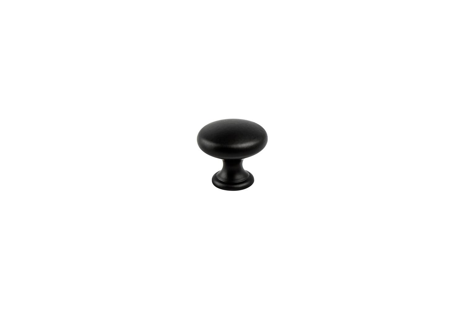 The Berenson Hardware Black Cabinet Knobs are $