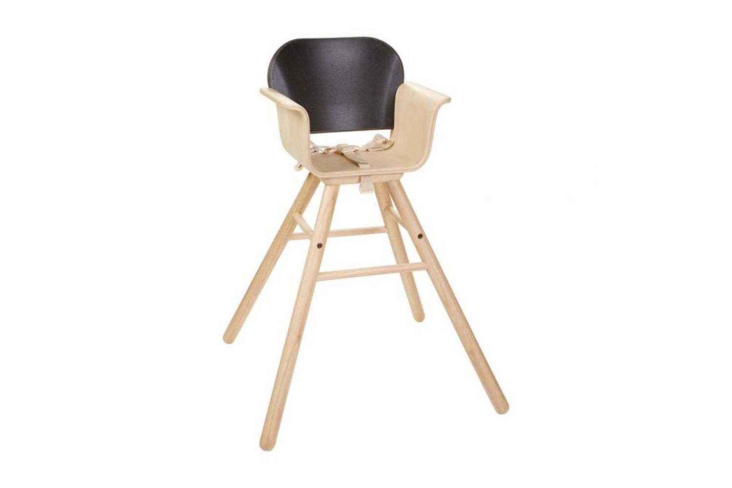 The Plan Toys High Chair in Black is available for $8.89 through sellers on Amazon.
