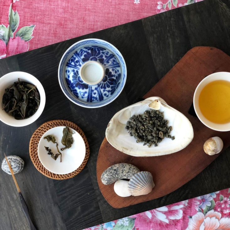 Seaport Oolong is cultivated on the southern tip of Taiwan: &#8