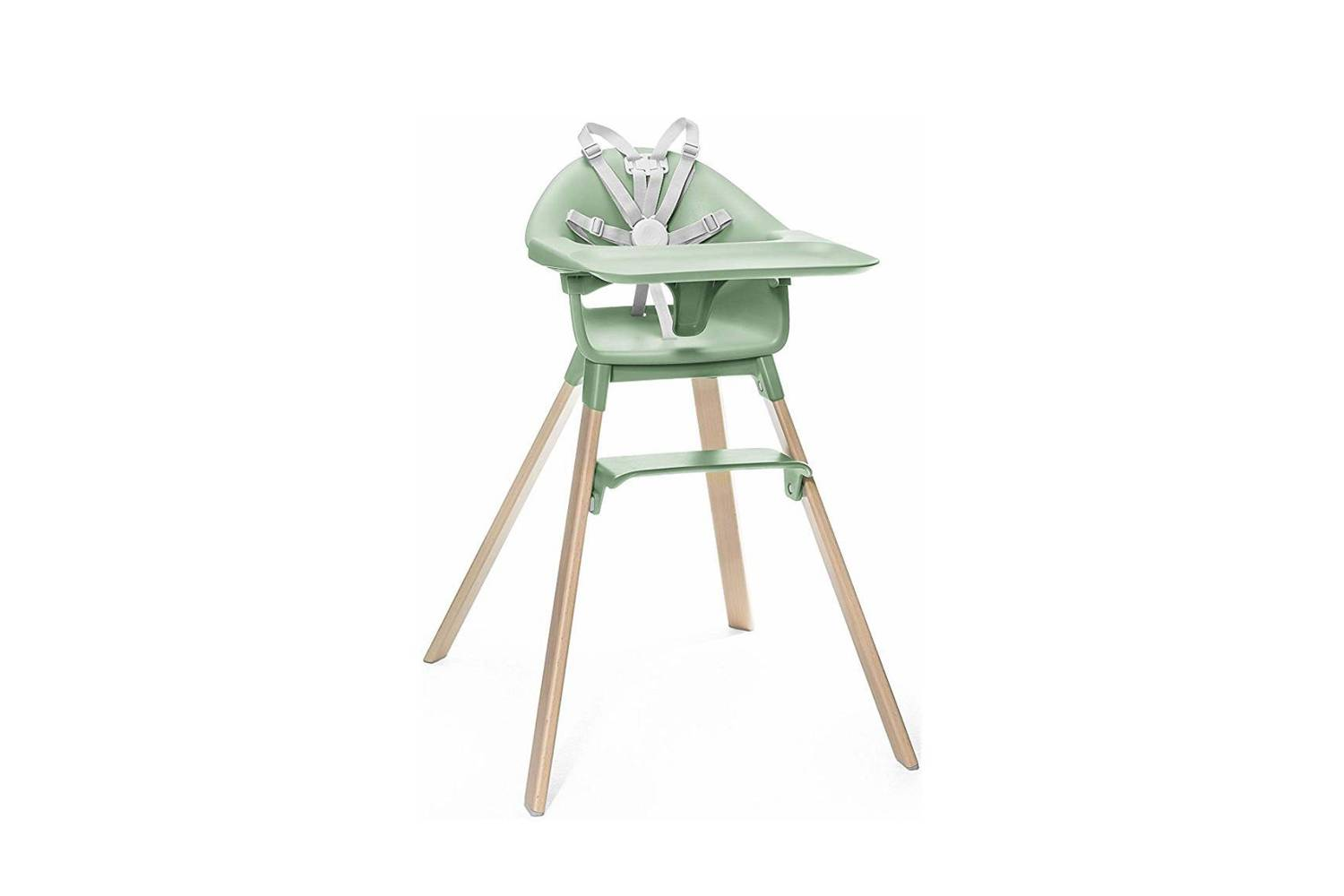 Another style from Stokke, the Clikk High Chair, shown in Clover Green, is $9 at Maisonette.