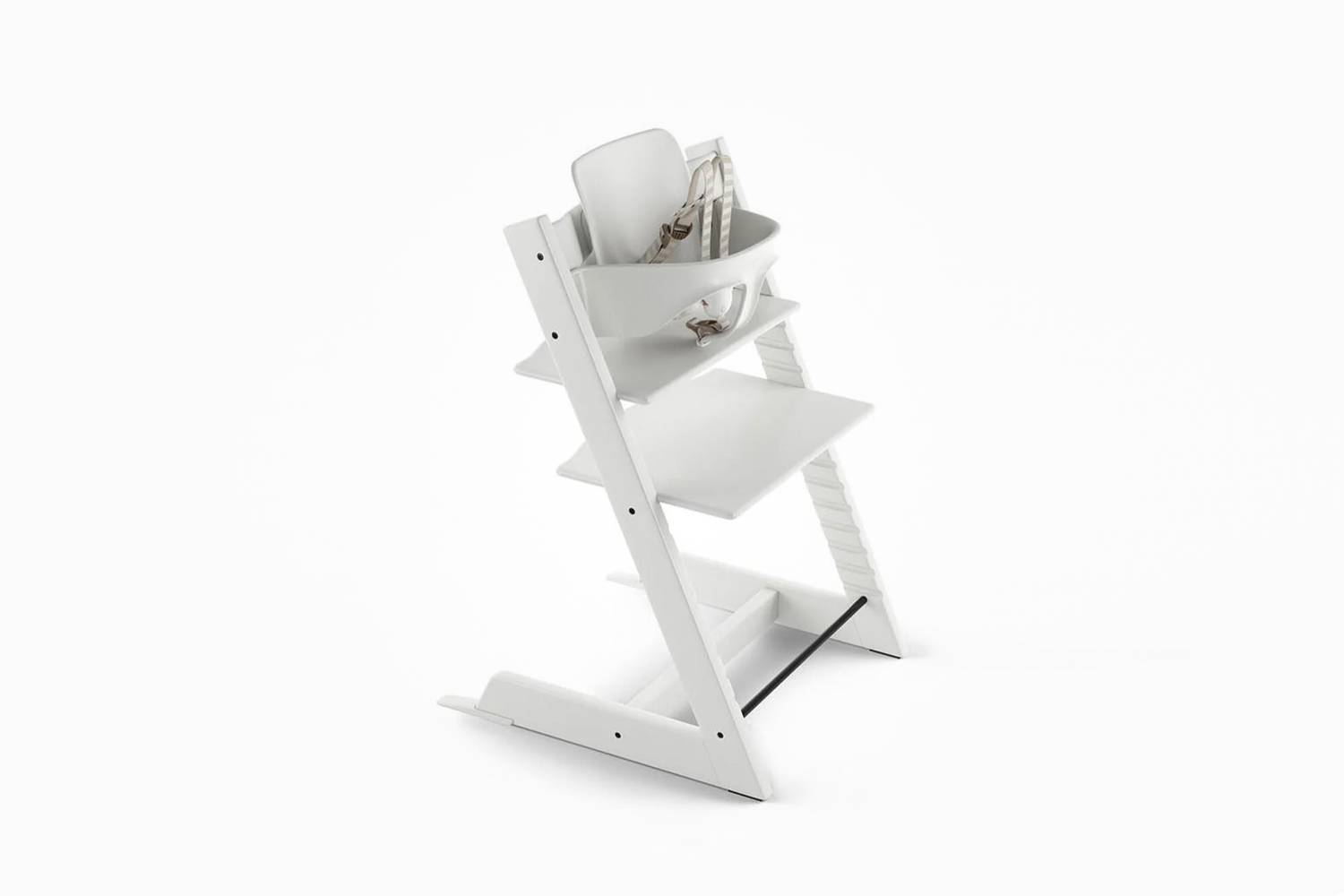 The Tripp Trapp High Chair, shown in White, is $9 at Stokke.