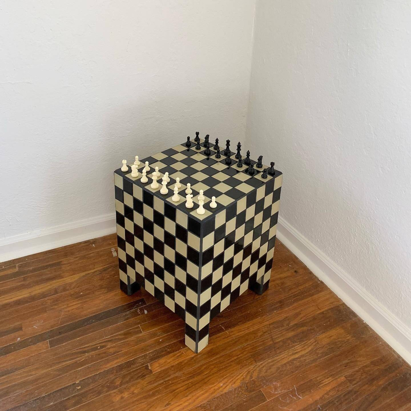 the ceramic tiled willow chess table(\$650), is &#8\2\20;perfect for ches 16