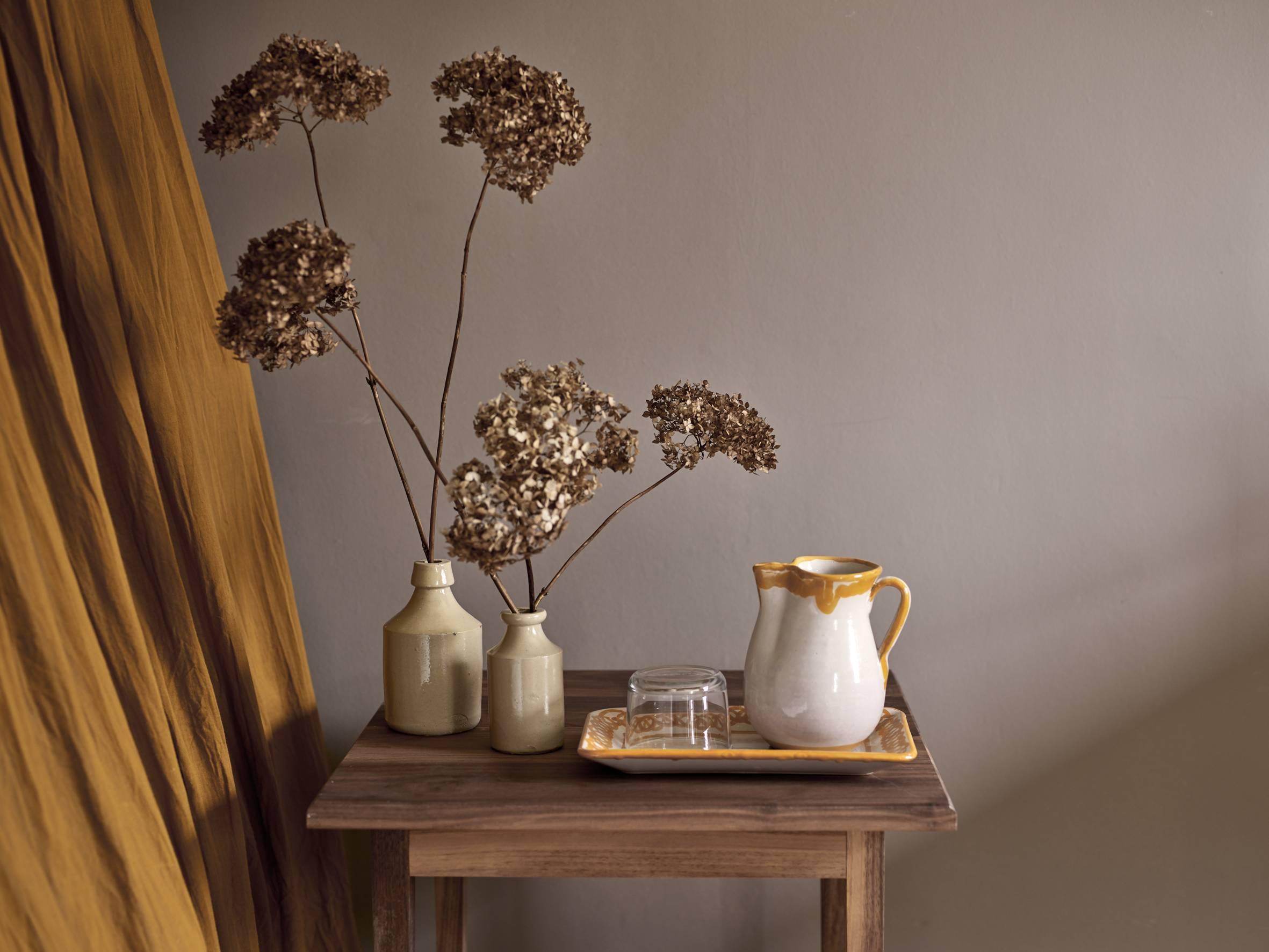 The WoodEdit bedside table in Walnut.