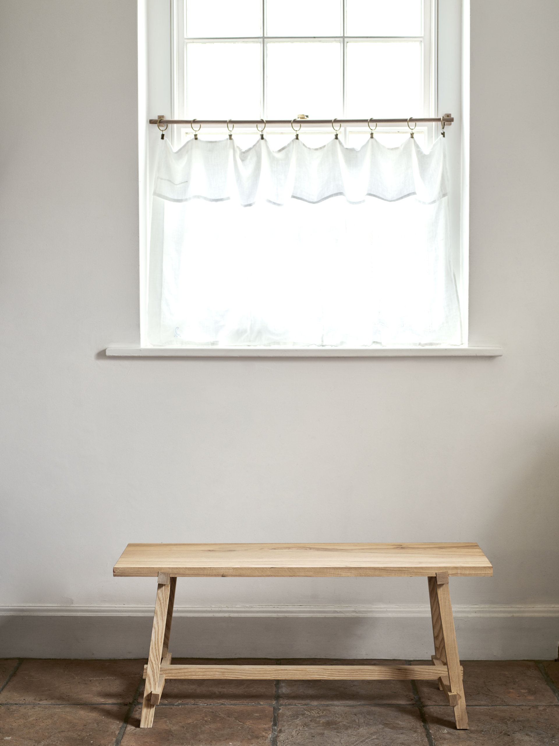 """The WoodEdit Bench in Ash. """"Of course I love the way each piece looks and feels,&#8"""