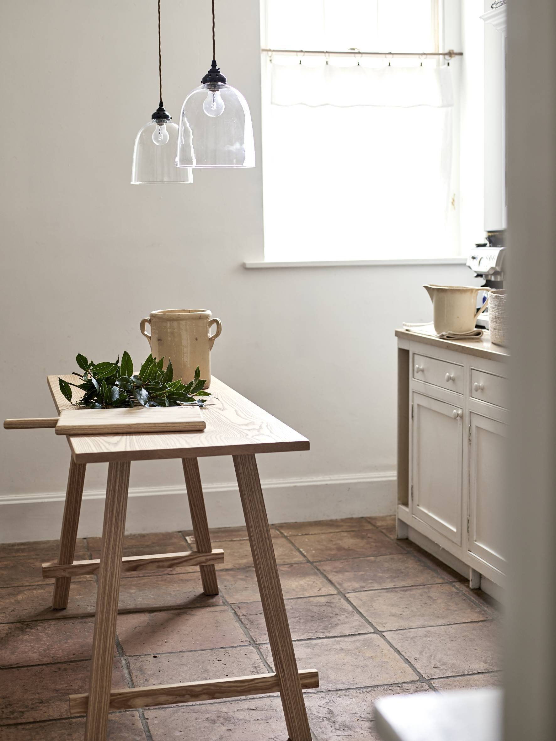 the clean, simple form of woodedit&#8\2\17;s kitchen island (seen here in a 14