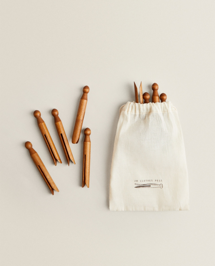 Wooden Clothespins from Zara Home