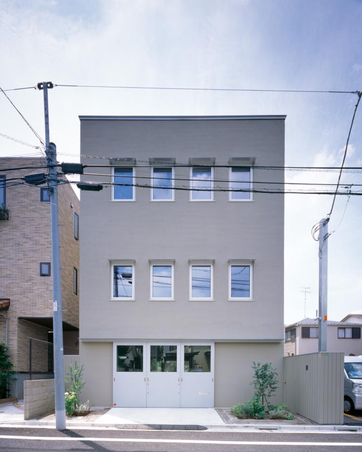 yumiko sekine tokyo house wataru obashi exterior
