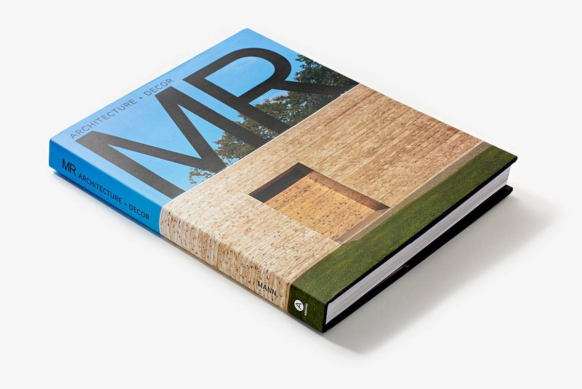 MR Architecture + Decor, the first collection of the firm's  years of work, is available from Amazon.