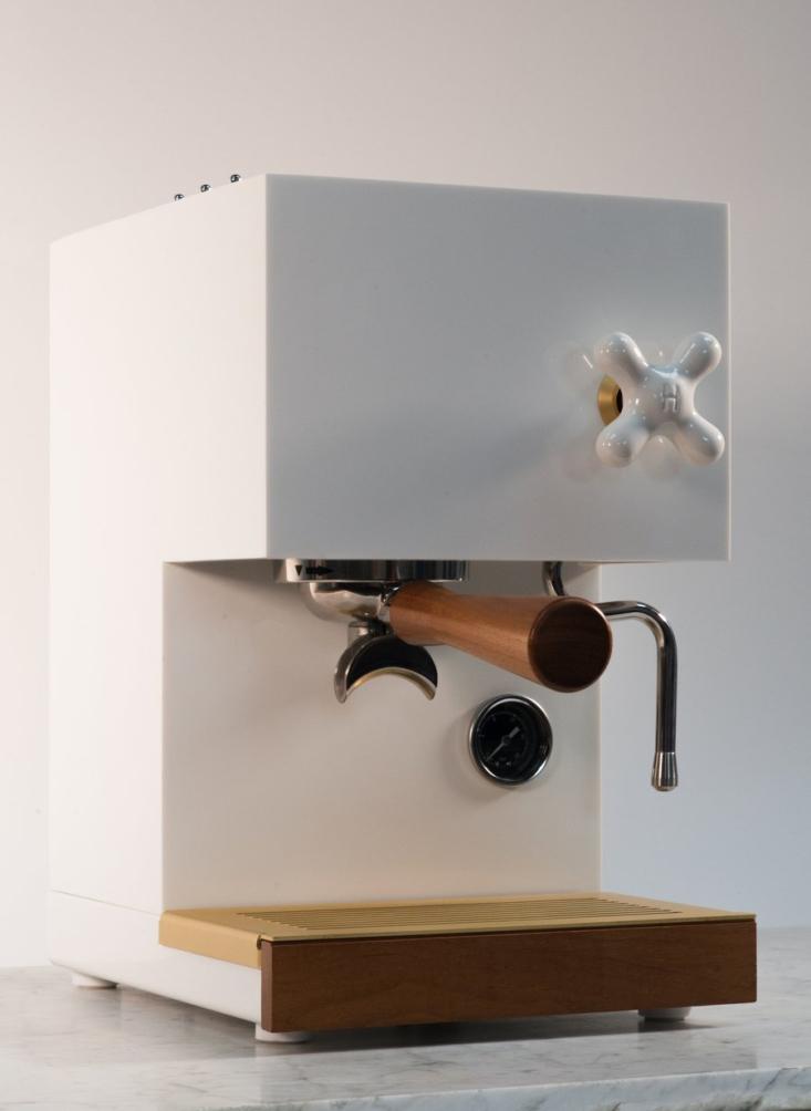anza coffee maker white
