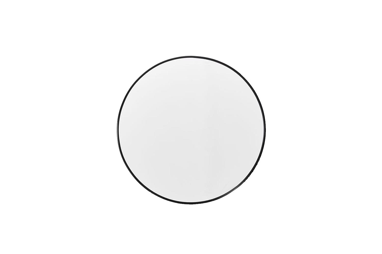 10 Easy Pieces Simple Round Mirrors The AYTM Circum Mirror in black is \$\256 at Finnish Design Shop.