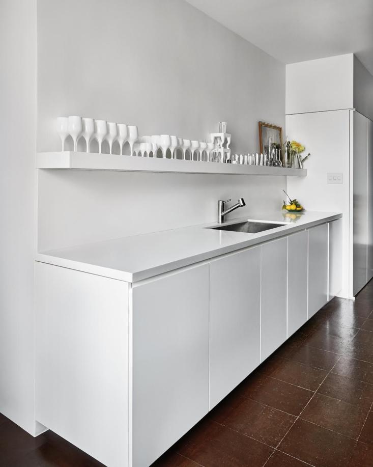 A crisp, streamlined kitchen of Mann&#8