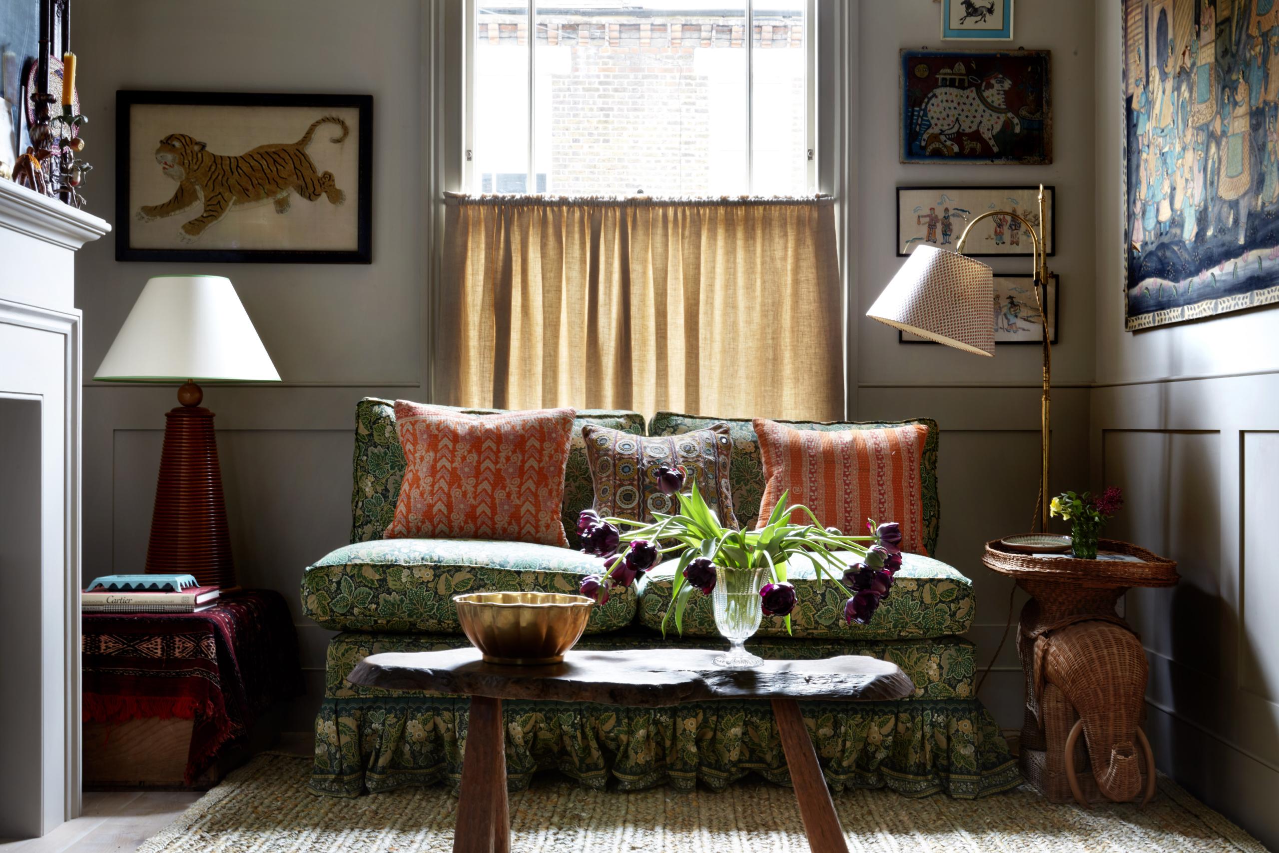 Urban Cozy: Interior Designer Lonika Chande's West London Cottage