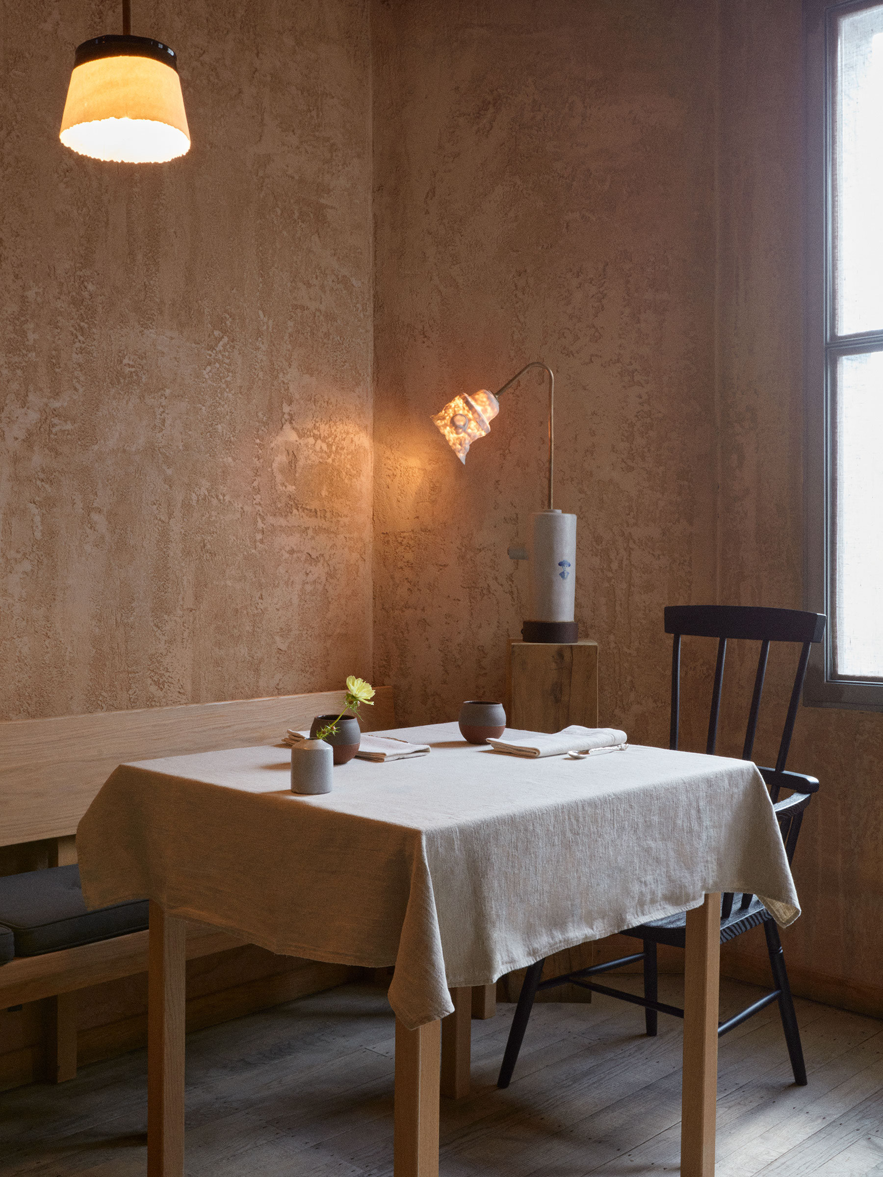 the ceramic table lamp is from bddw. 12