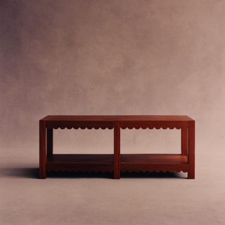A bench by the artist/furniture-maker/designers at Green River Project.