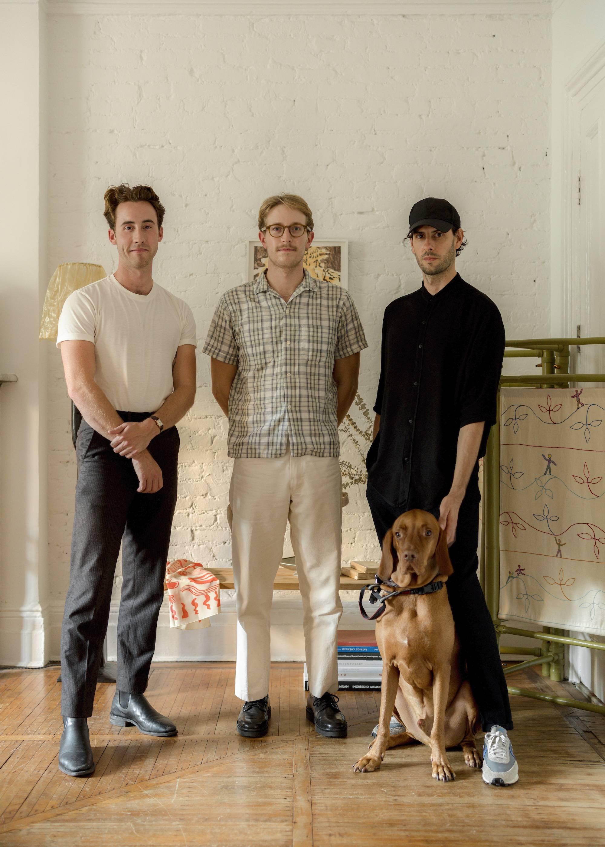 Above (L to R): Ian Felton, Sean Davidson, and Olivier Garcé.