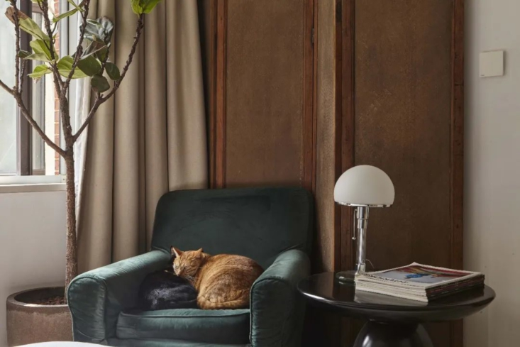 The WG  Table Lamp by Wilhelm Wagenfeld is available through Bauhaus