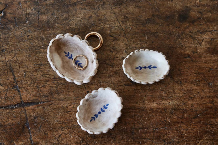 alix soubirian scalloped jewelry dish nickey kehoe