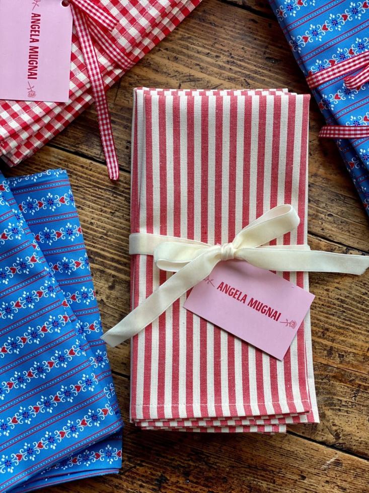 Ideal para comidas de verano informales pero divertidas: servilletas Red Stripes (actualmente a la venta; £ cargando =