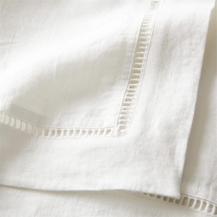 eyelet tablecloth cb2
