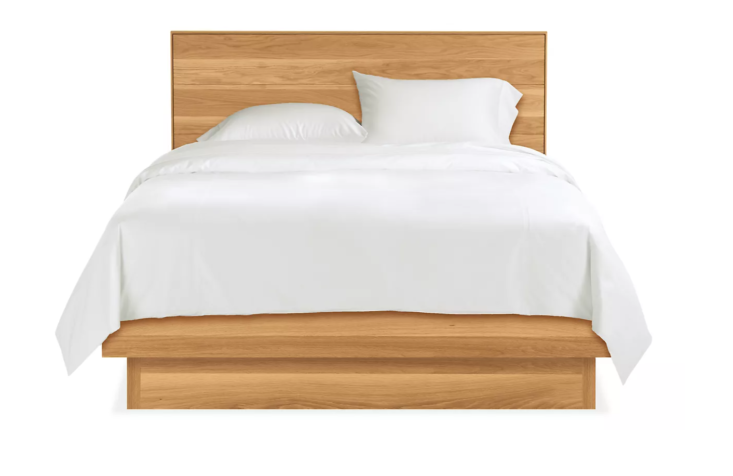 The Hudson Bed from Room & Board comes in eight different wood types/finishes starting at $loading=