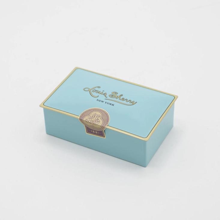 louis sherry tin chocolate box