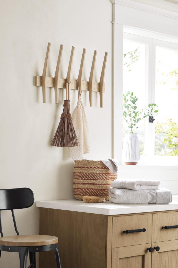 a well placed hook or hook rack is a simple addition that makes a big differenc 11