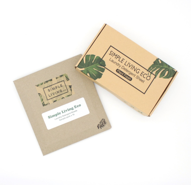 simple living eco laundry sheets