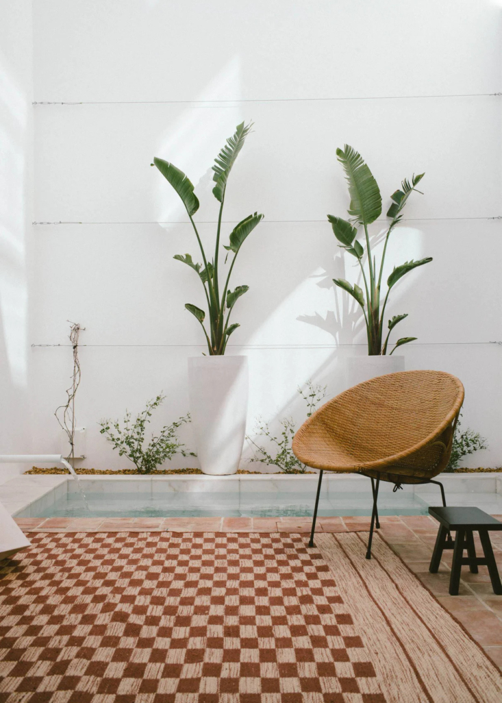 One Two Three Minimalist Guesthouses on the Coast of Portugal Pools Included Though tiny, the private courtyard is airy and bright, plunge pool included.