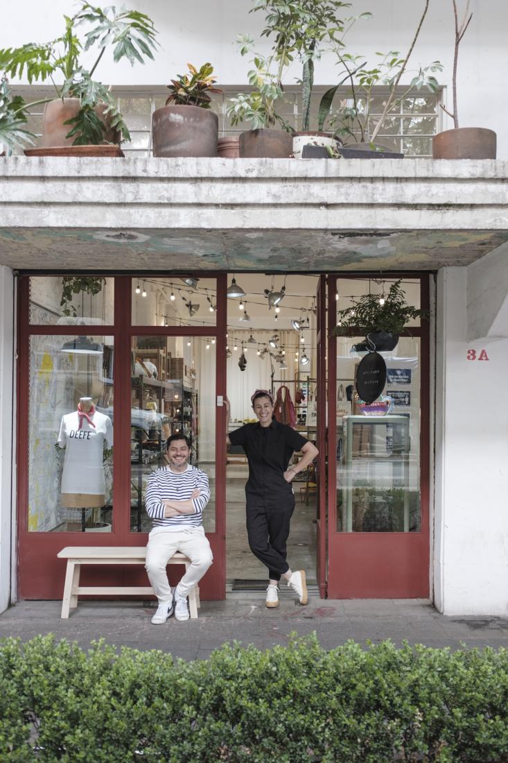 Enrique Arellano and Libia Moreno keep shop in Mexico City&#8