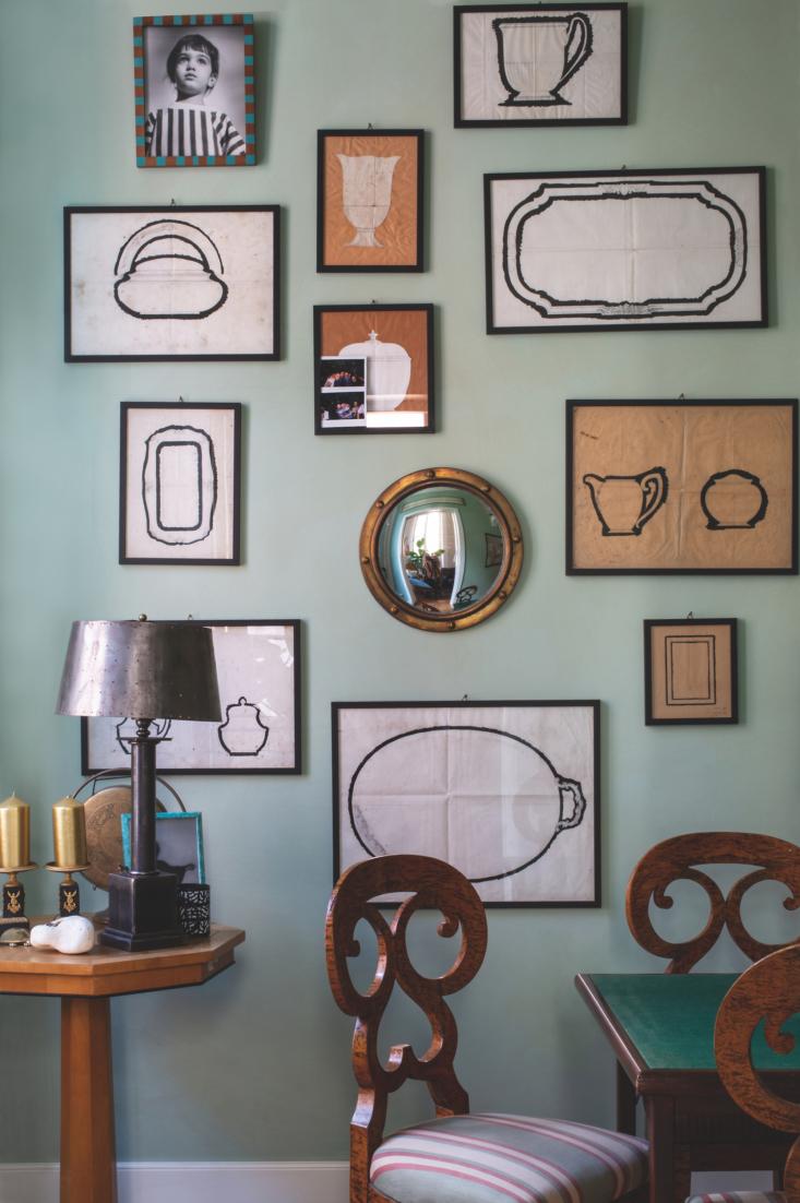 a room of her own marta ferri art wall