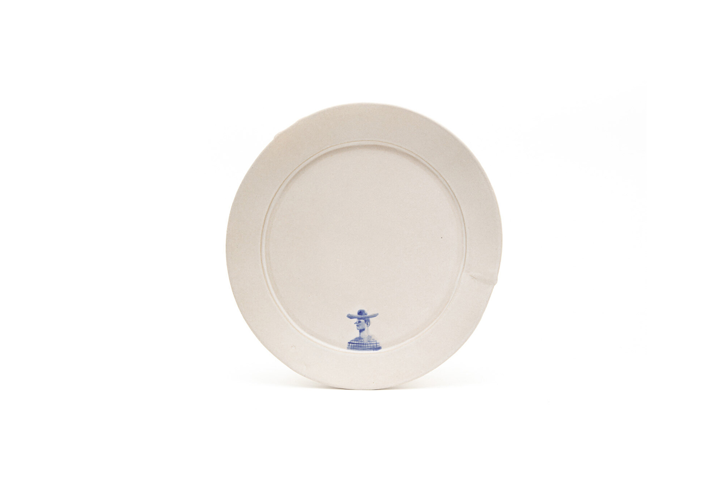 the bddw 9 inch plate 3\10, like other bddw ceramics, is handmade in philadelph 20