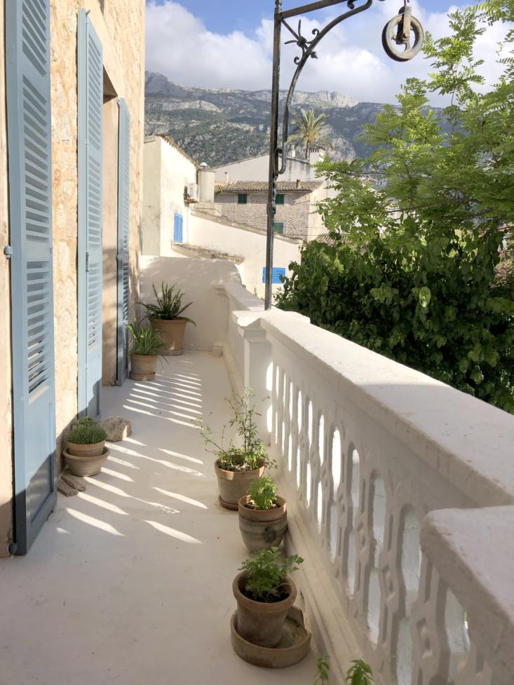 the balcony with original details. 17