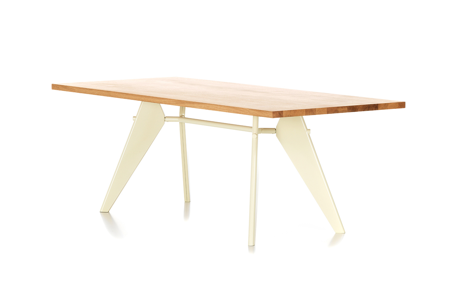 designed by jean prouvé in \1950, the classic prouvé em table is available in 13