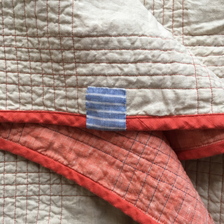 Mathilde Quilt with Personalized Swatch