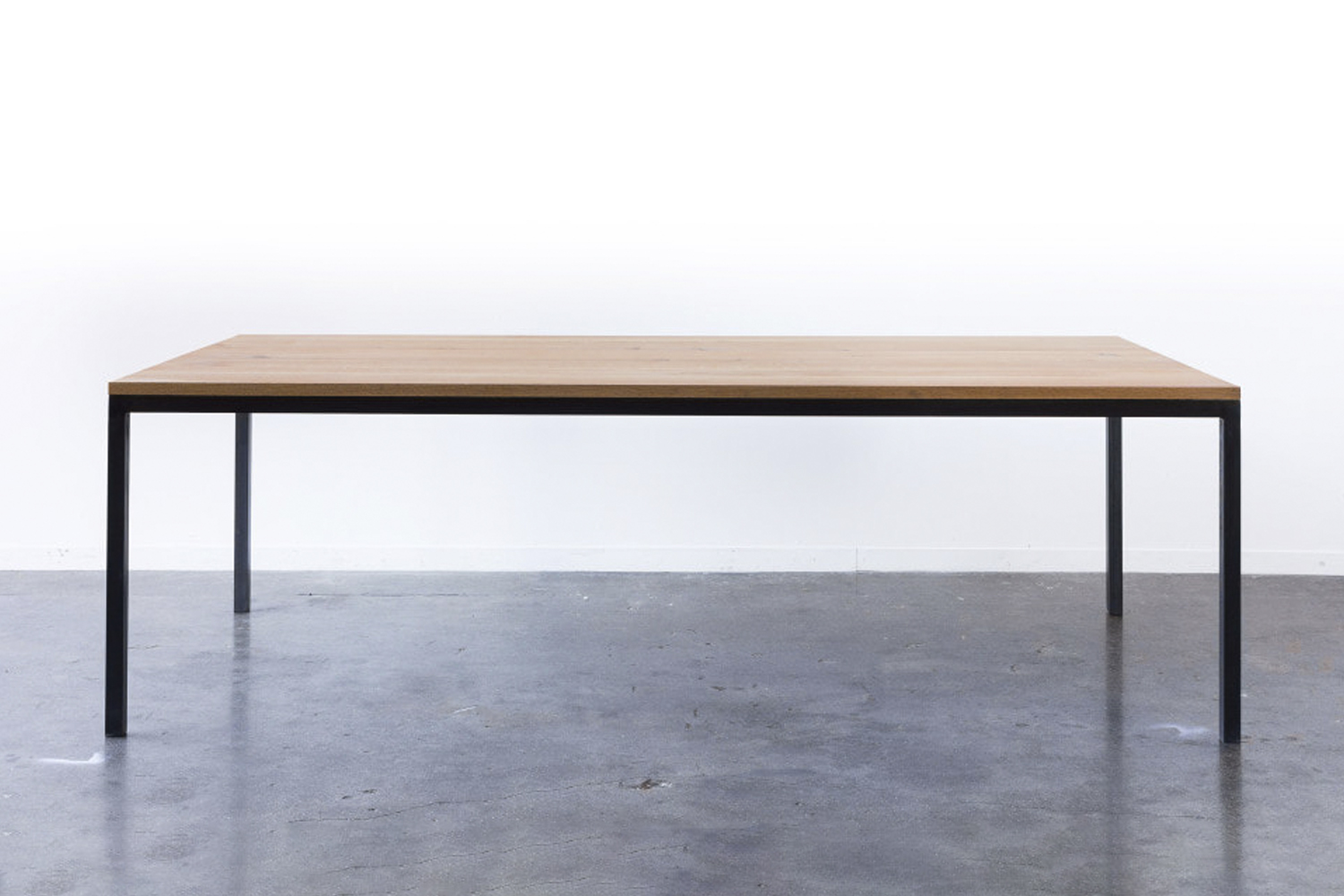 the ohio brooks table is based on a classic parsons table design made with gun  16