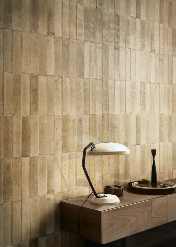 not just for the kitchen and bath: laid vertically, look tiles in beige add sub 13