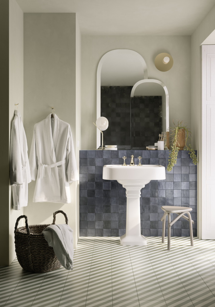 all of the look and mélange tiles are greenguard certified; their ceramic mate 15