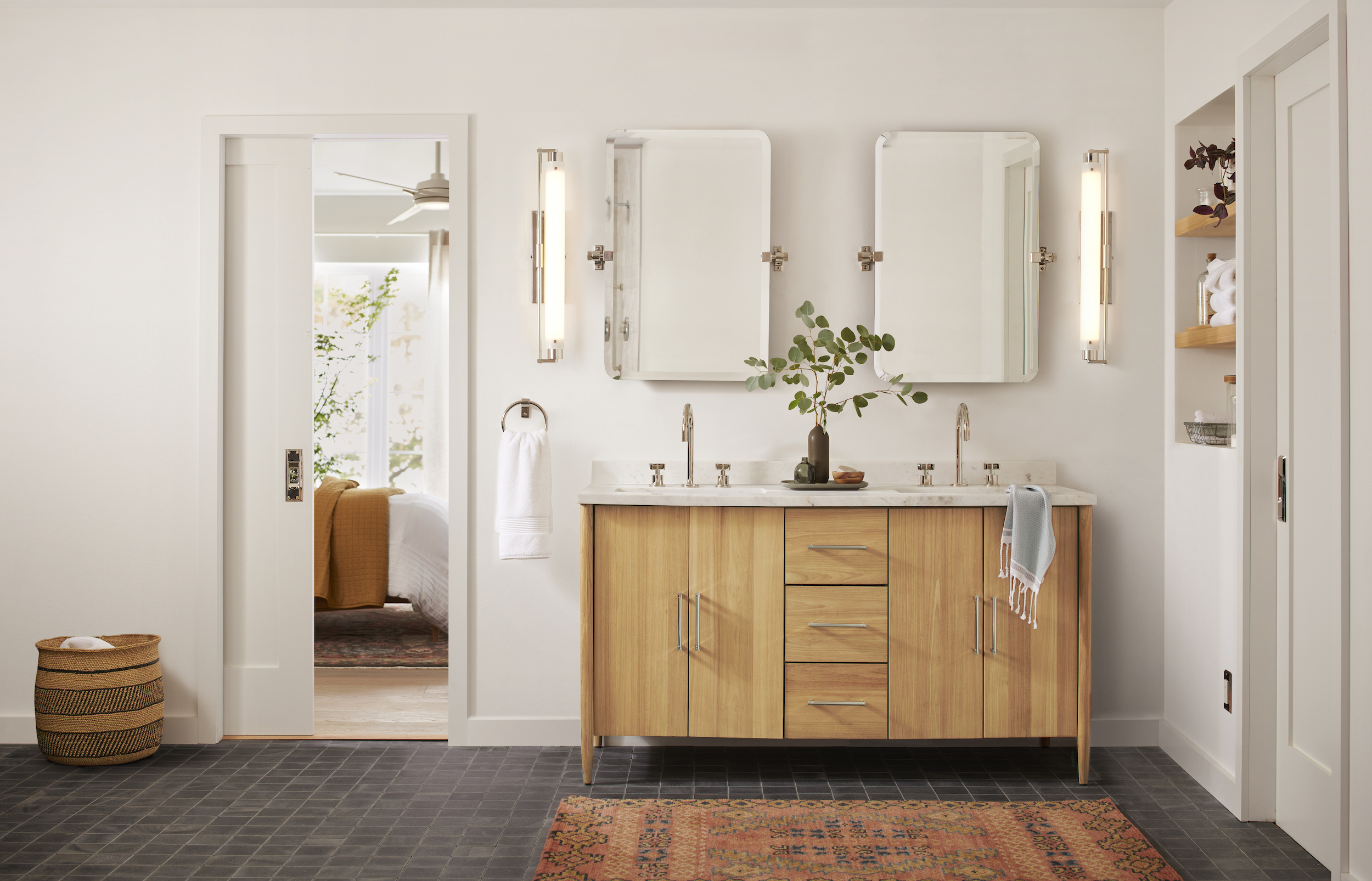 Expert Advice: Tips for Upgrading the Guest Bed and Bath with Rejuvenation - Remodelista