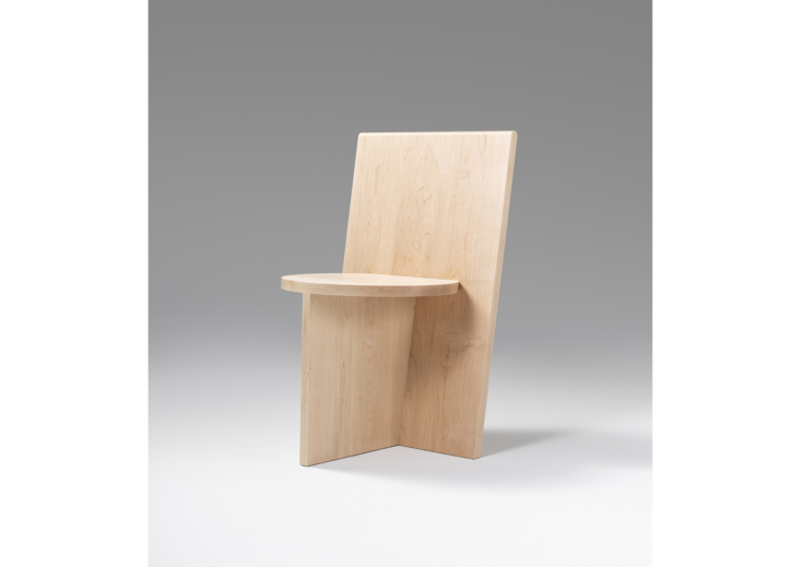 5 Favorites Donald JuddInspired Minimal Wooden Chairs portrait 3