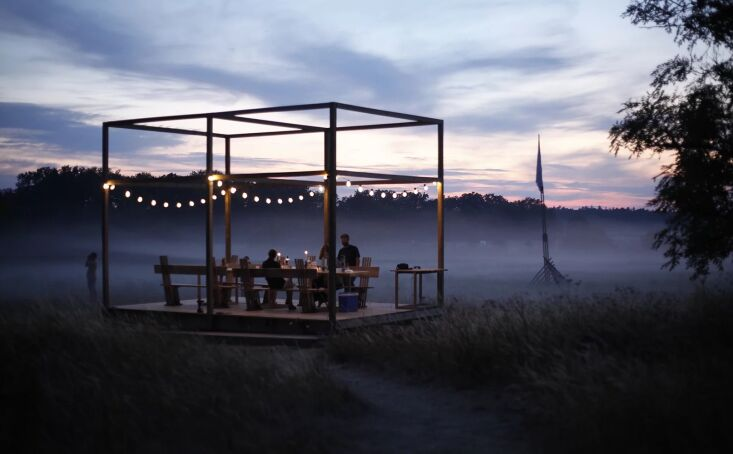 the petersen & gottelier designed doh dining pavilion. petersen&#8\2\17 16