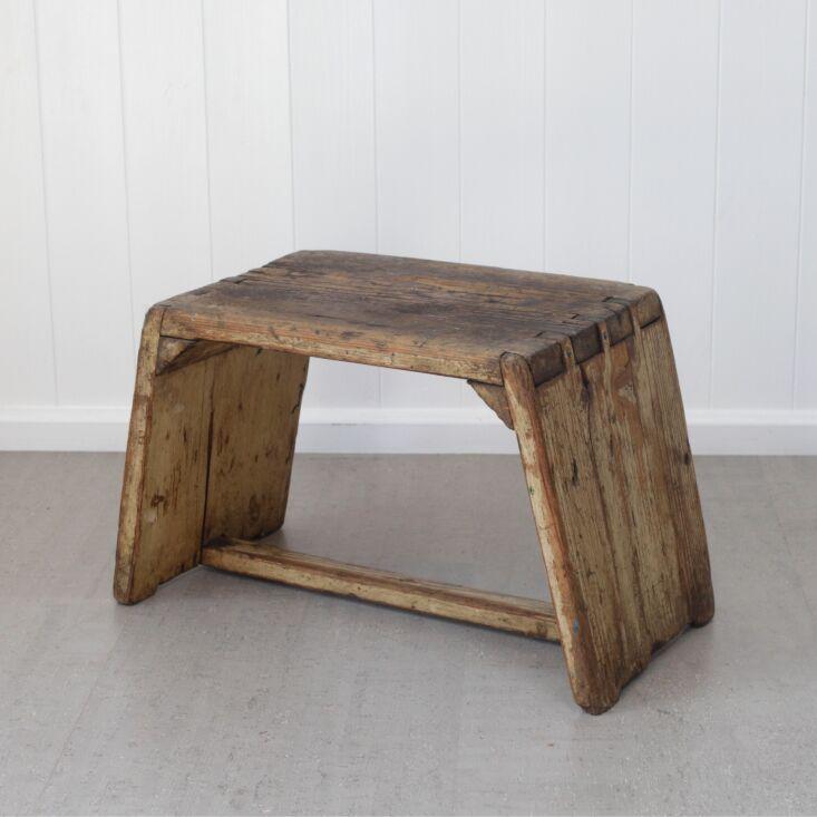 push pull japanese street vendor stool