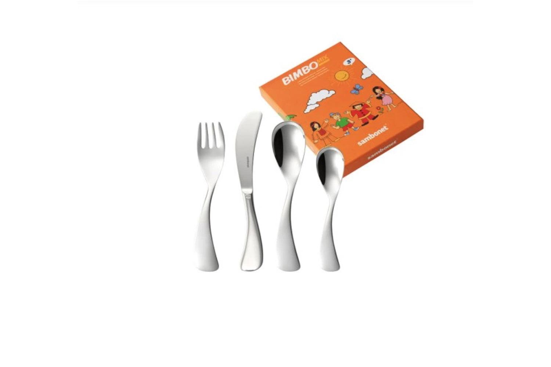 the sambonet bimbo mix stainless steel baby flatware is €\29.90 at rosenthal  21