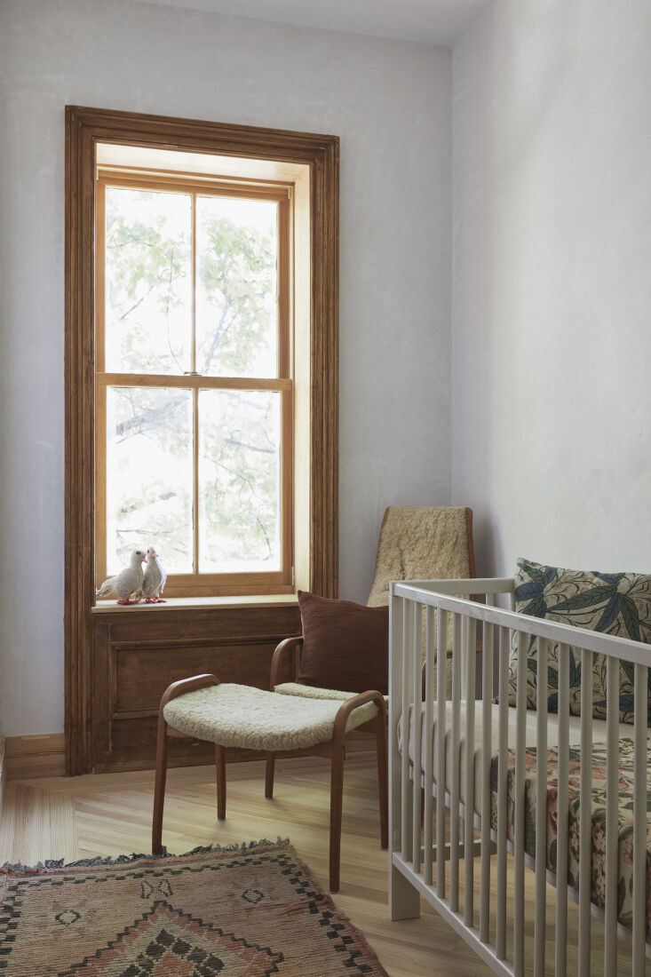 the smallest space is styled as a baby&#8\2\17;s room. throughout the house 23