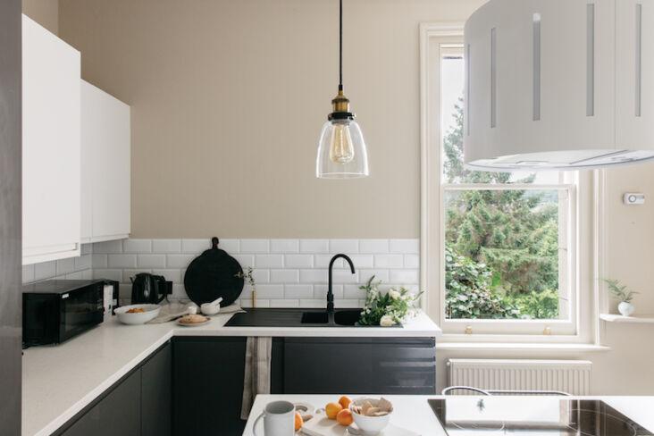 the curators apartment kitchen