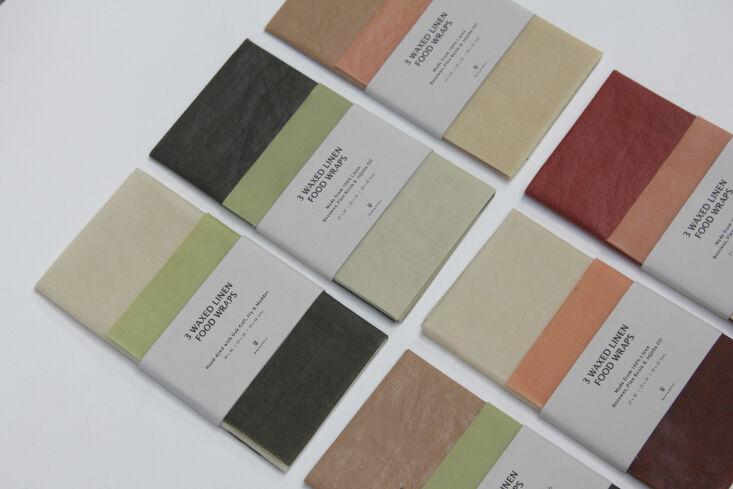 wax atelier coloured wraps