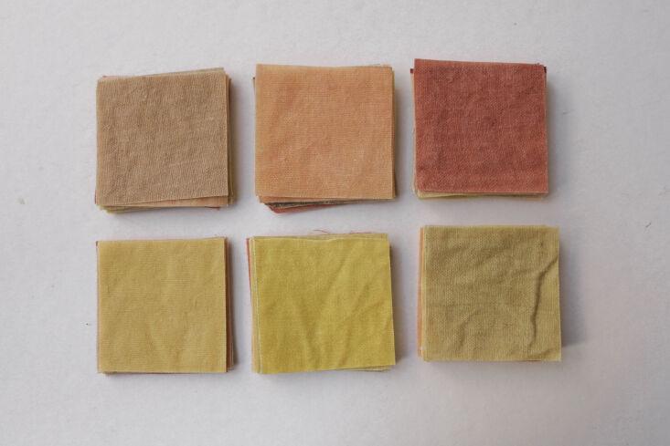 wax atelier textile samples