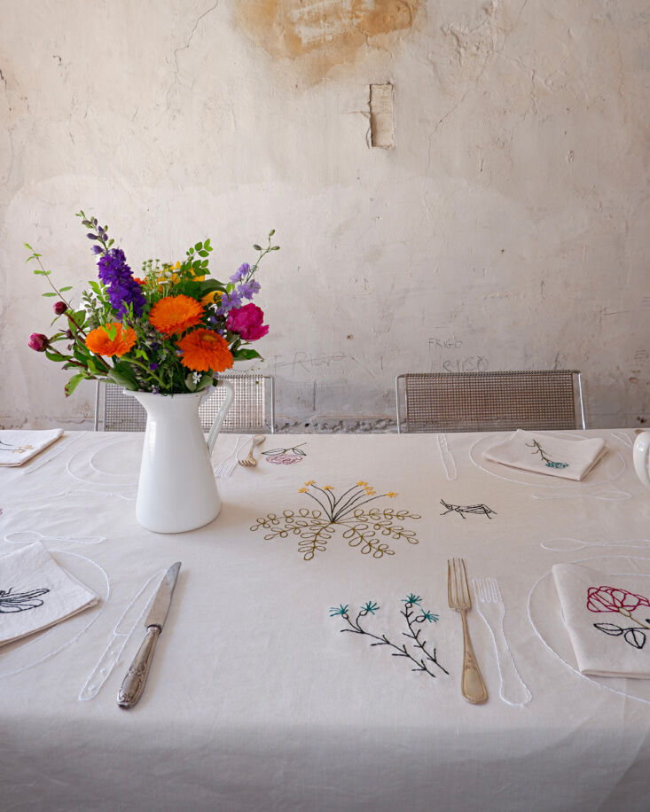 chemin table potager