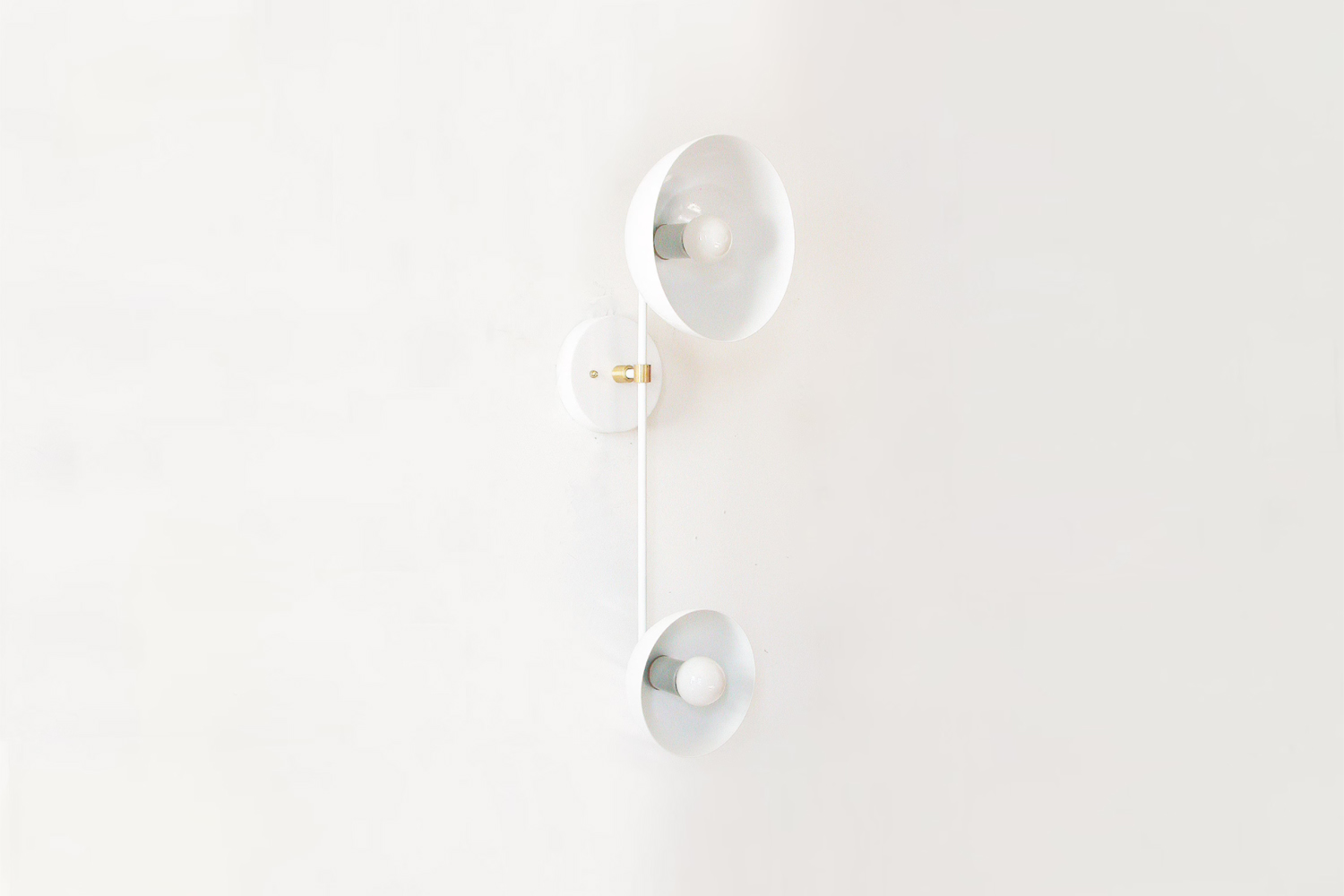 the dl design works modern double white sconce is \$\248 at etsy. 13