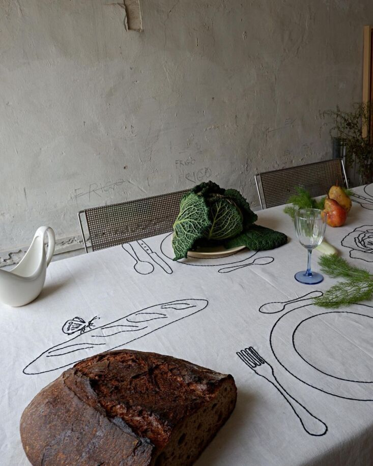 Object of Desire HandEmbroidered Table Linens from Oeuvres Sensibles in Marseille portrait 3_24