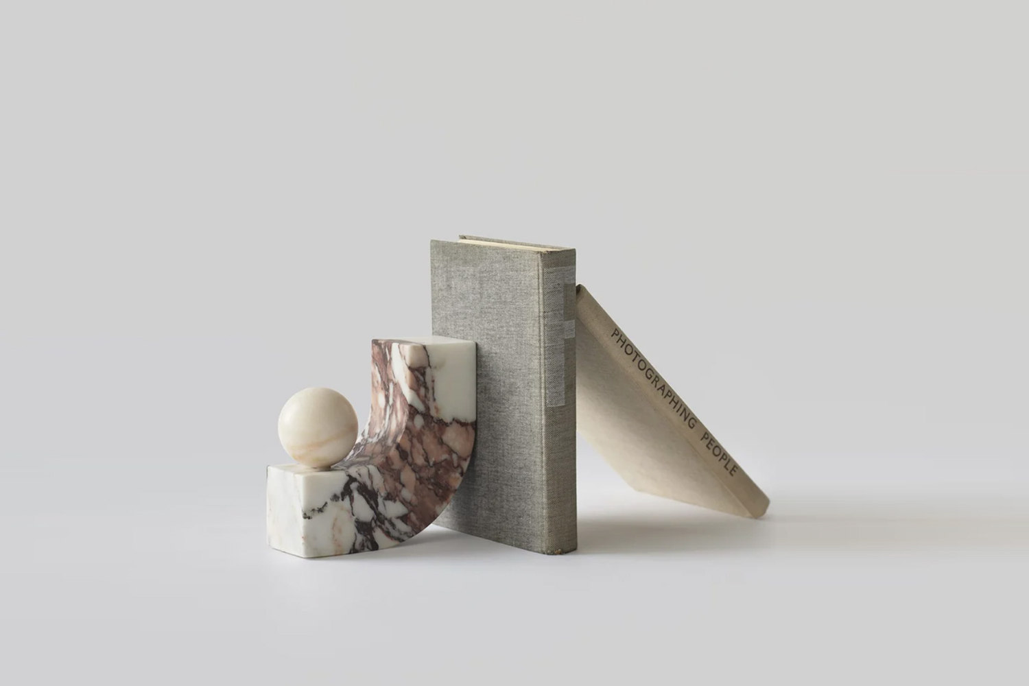 the equi bookend in calacatta viola marble is \2,800 sek at artilleriet. 22